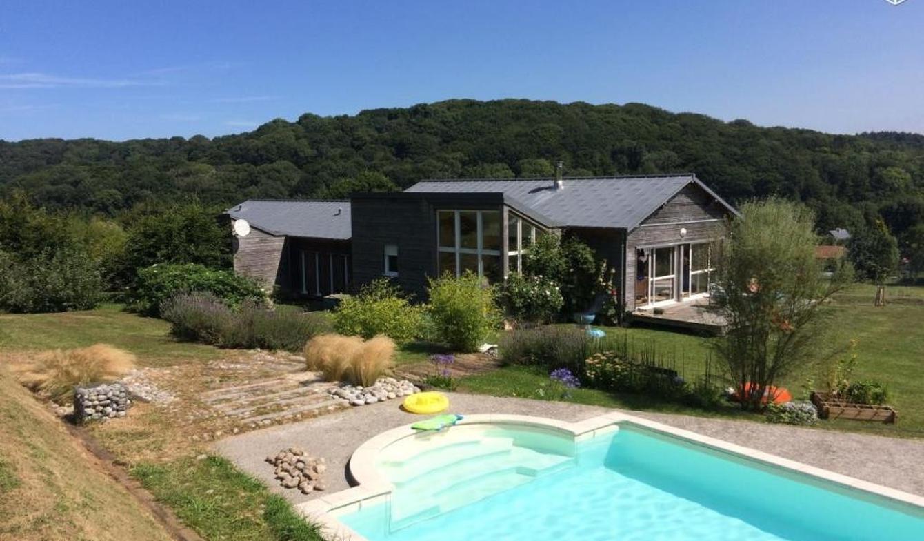 Villa avec piscine et terrasse Etretat