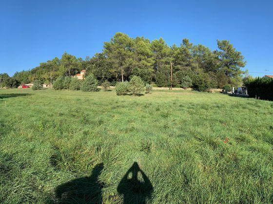 Vente terrain 734 m2
