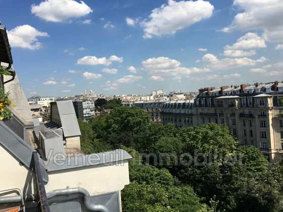 vente Studio 8,5 m2 Paris 17ème