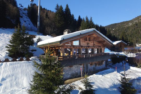 Chalet with panoramic view