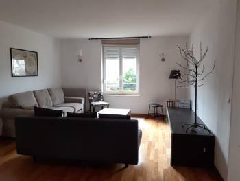 Appartement meublé 3 pièces 82,6 m2