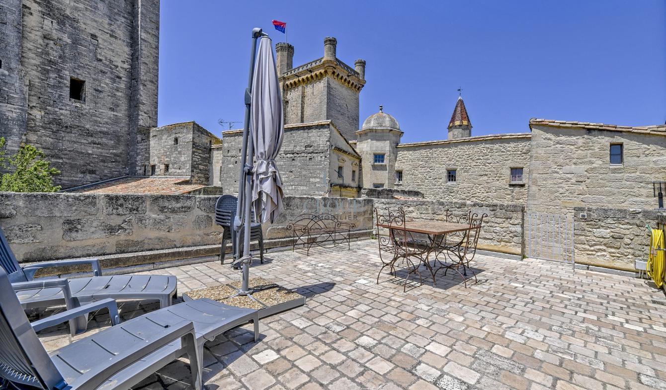 Appartement avec terrasse Uzès