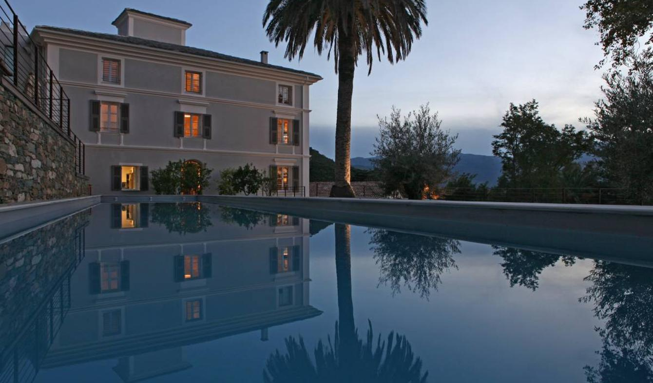 Hôtel particulier avec jardin Oletta