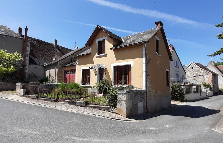 Vente propriété 5 pièces 80 m² à Le Pont-Chrétien-Chabenet (36800), 39 500 €