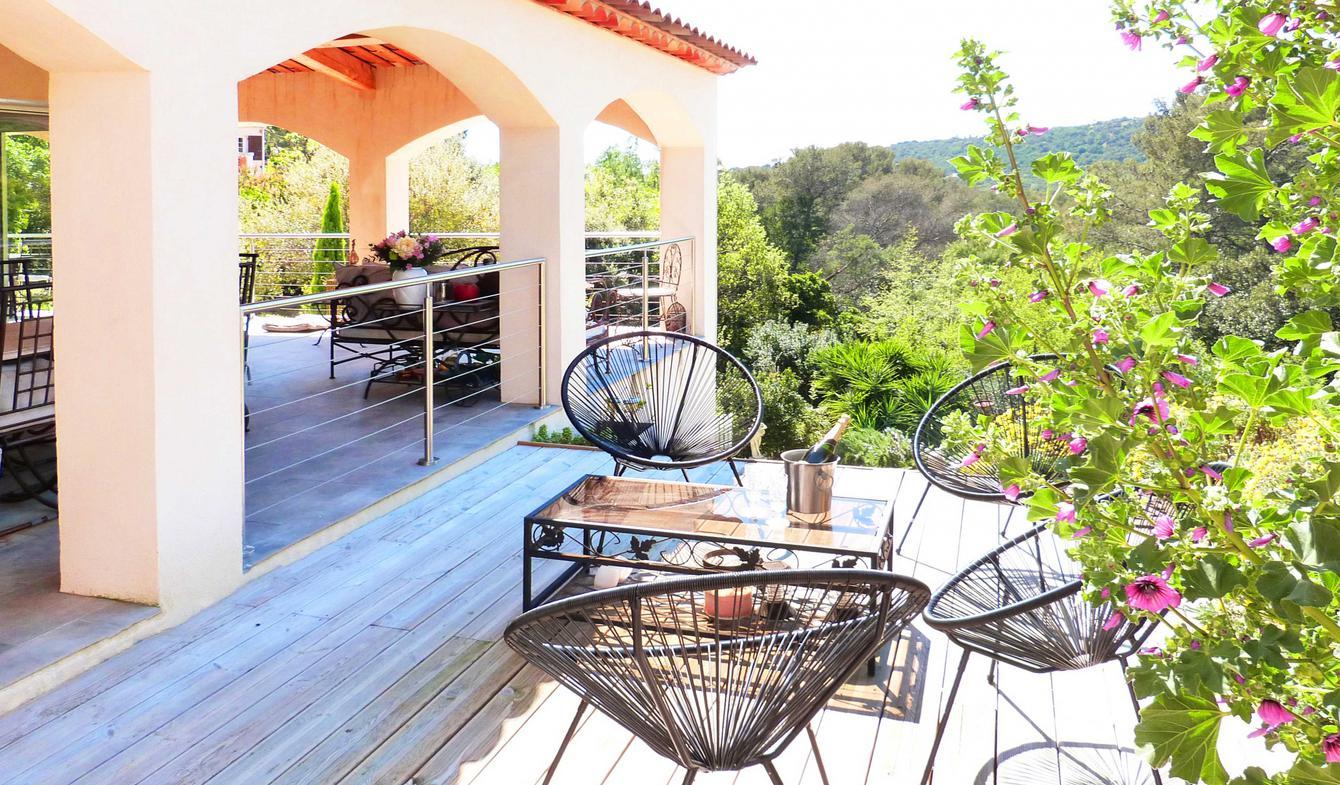 Villa avec piscine et terrasse La Croix-Valmer