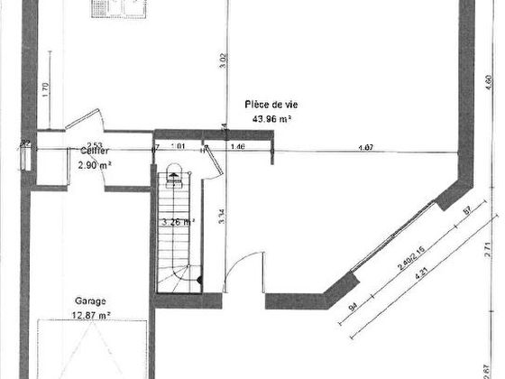Vente terrain 541 m2