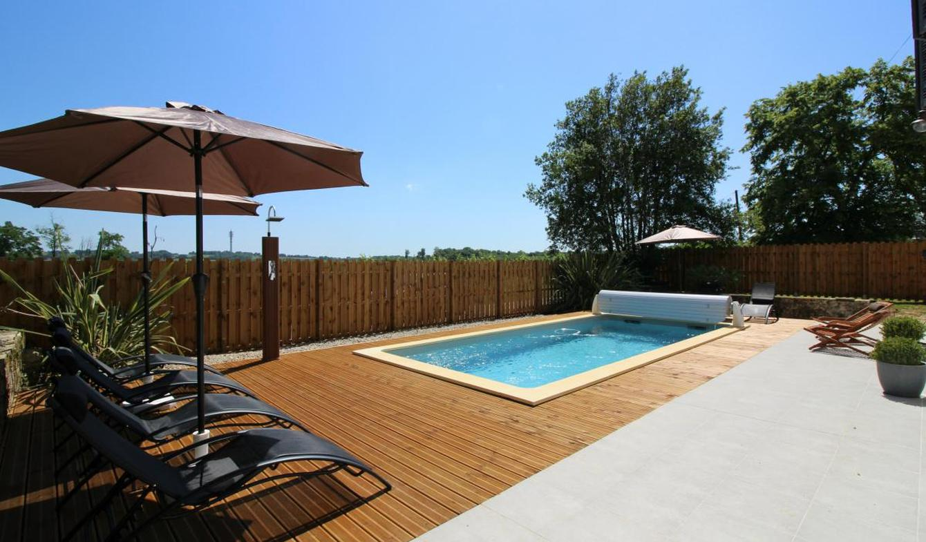 Propriété avec piscine et jardin Morizès