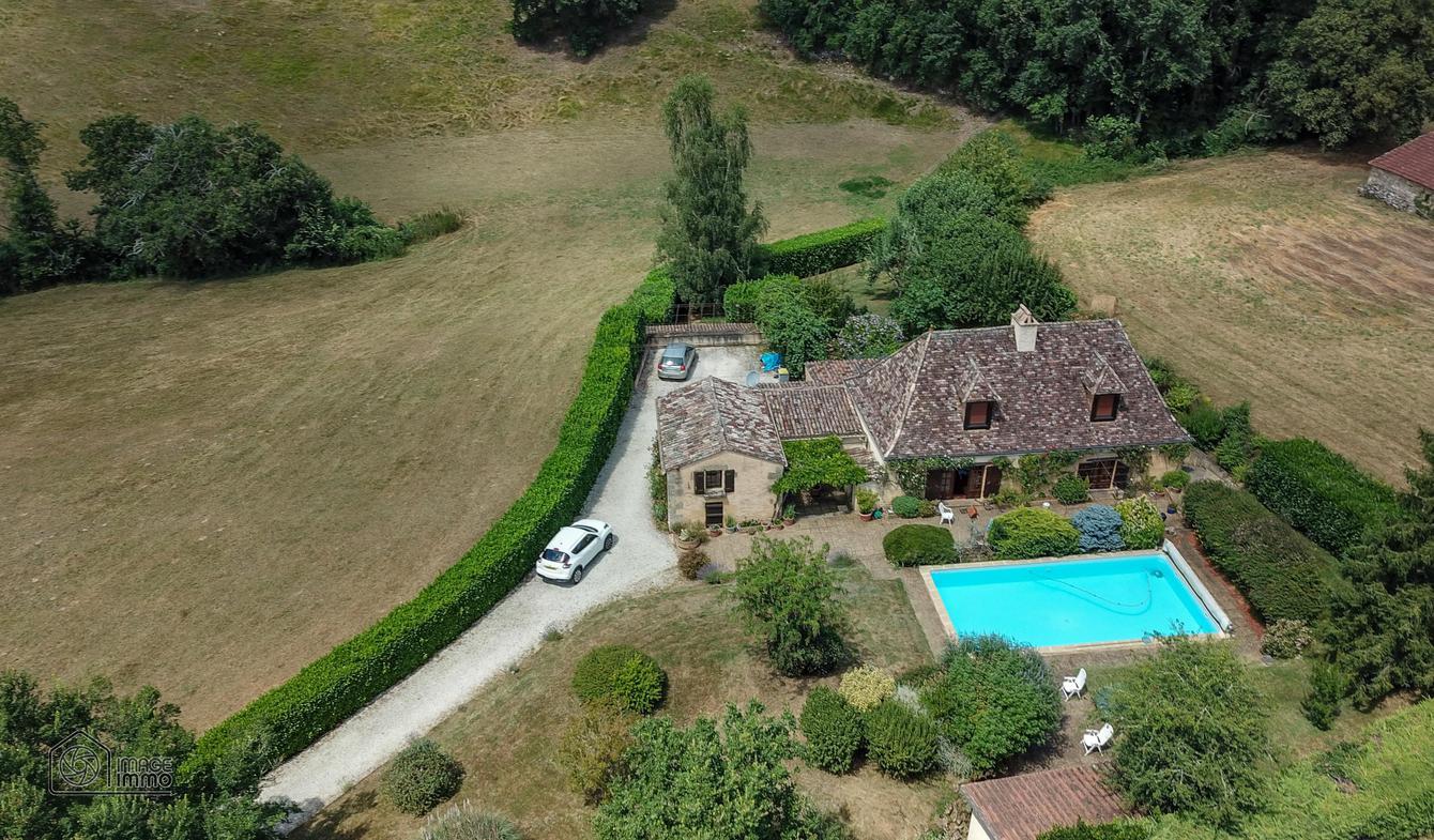 Maison avec piscine Lanquais