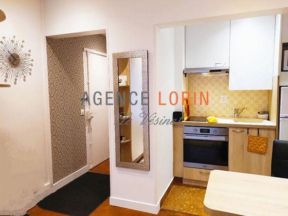 Location studio meublé 22,48 m2