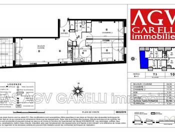 Appartement 2 pièces 63,6 m2
