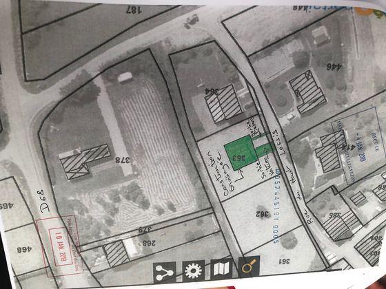 Vente terrain 1091 m2