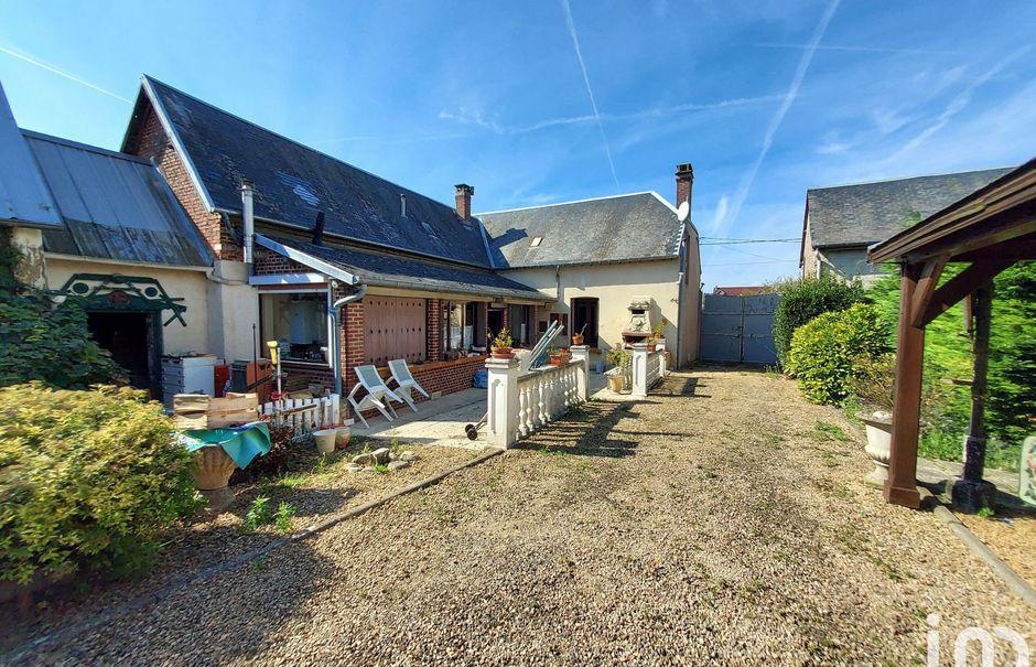 Vente maison 3 pièces 101 m² à Voyennes (80400), 135 500 €