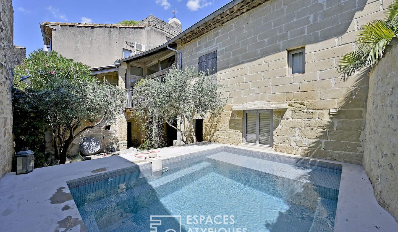 Maison avec piscine et terrasse Montaren-et-Saint-Médiers