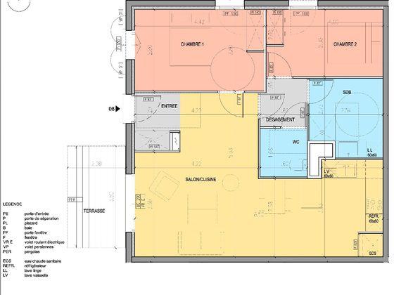 Vente villa 3 pièces 69 m2