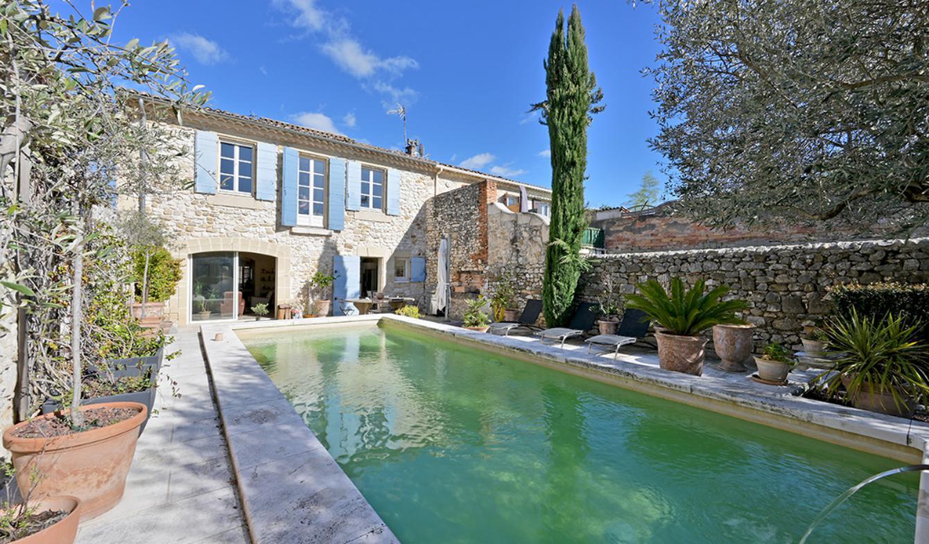 Maison avec piscine Saint-Mamert-du-Gard