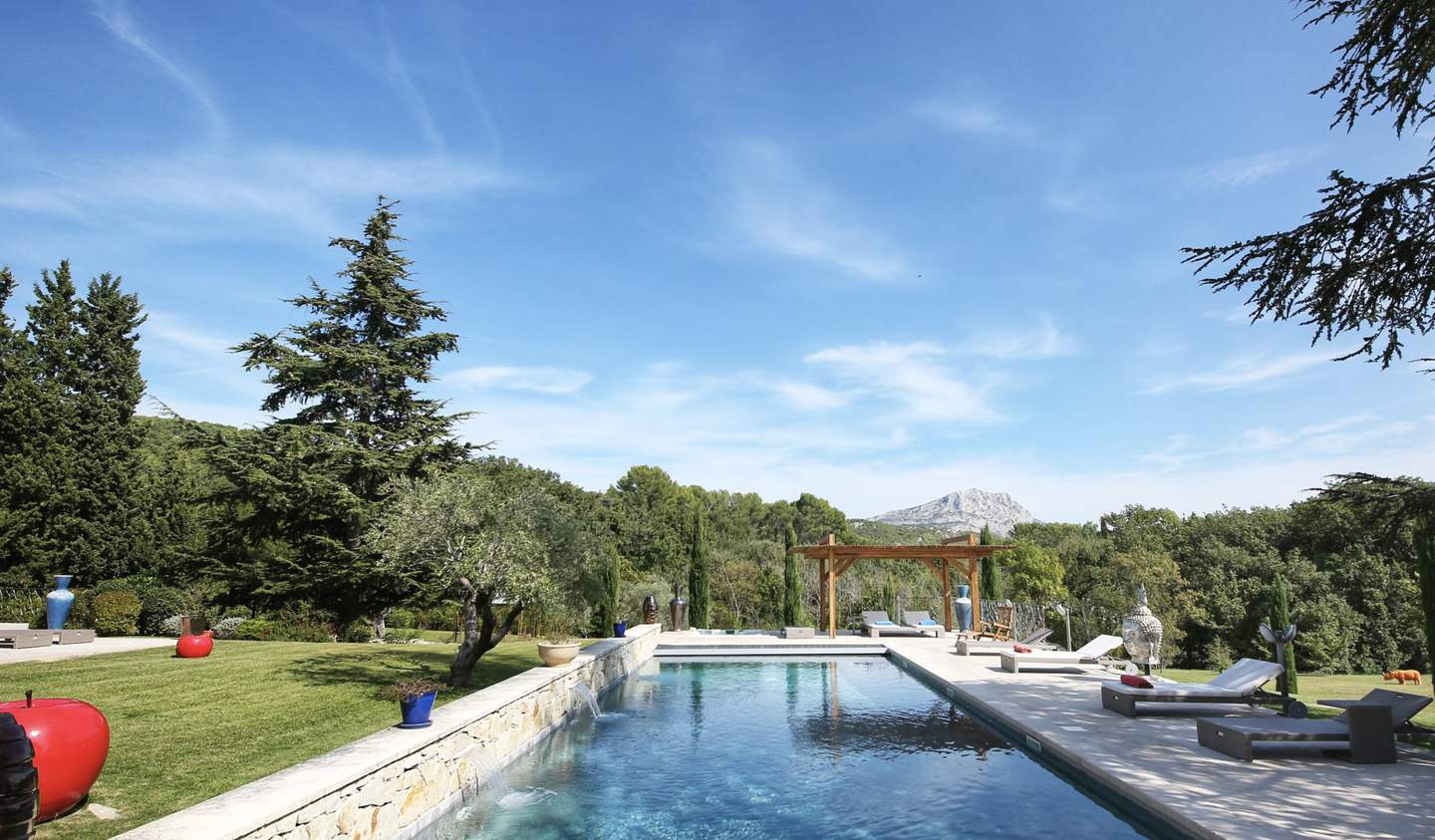Property with pool Le Tholonet