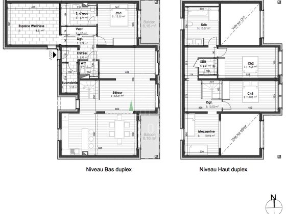 Vente appartement 4 pièces 164 m2