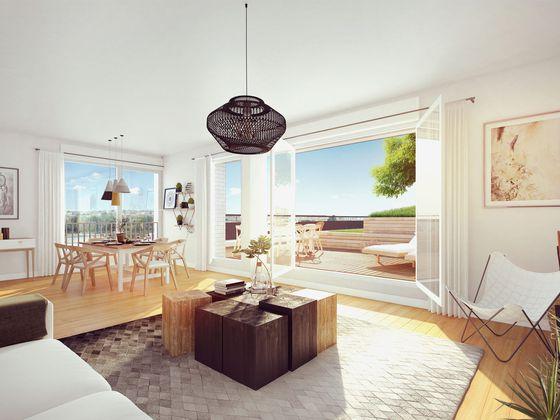 Vente appartement 4 pièces 91,3 m2