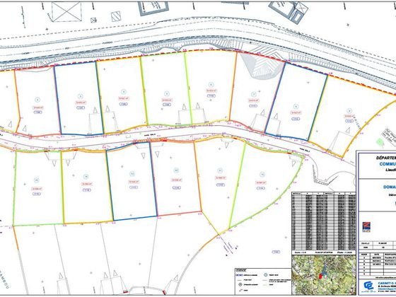 Vente terrain 515 m2