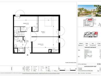 Duplex 3 pièces 76 m2