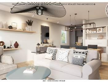 Appartement 3 pièces 66,86 m2