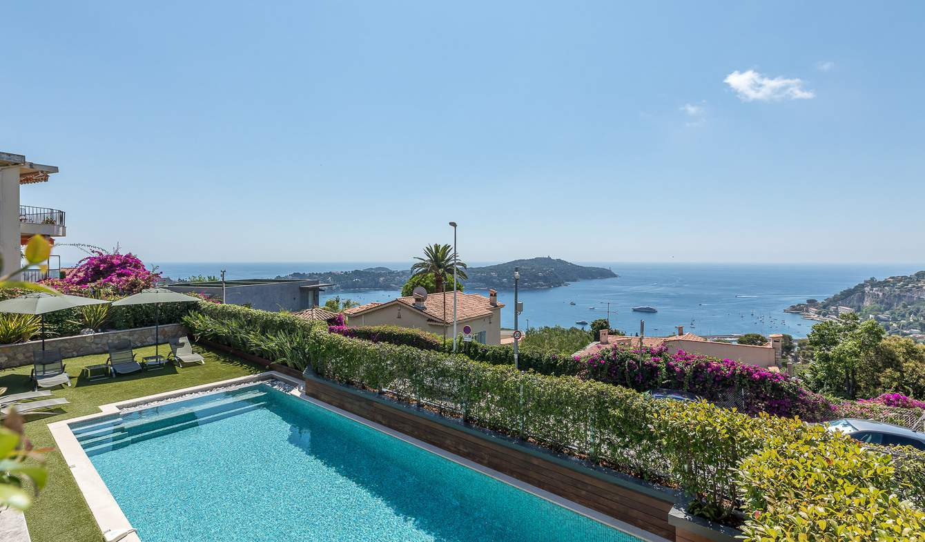 Seaside villa with pool Villefranche-sur-Mer