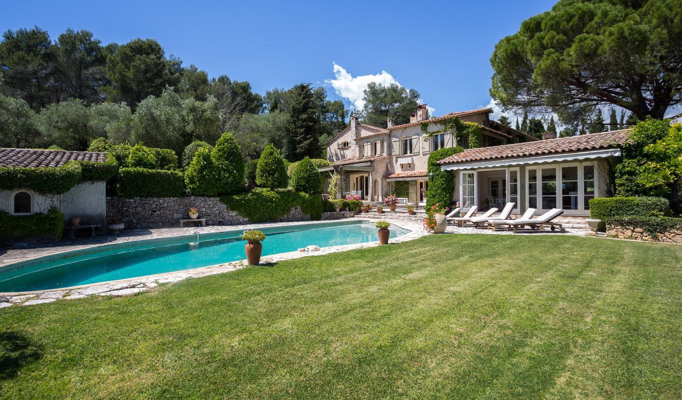 Villa avec piscine et jardin Grasse