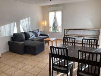 Appartement meublé 3 pièces 52,53 m2