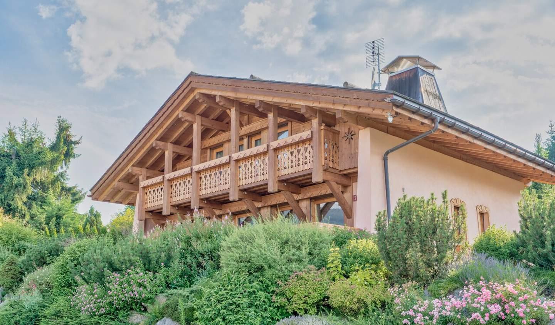 Chalet with terrace Combloux