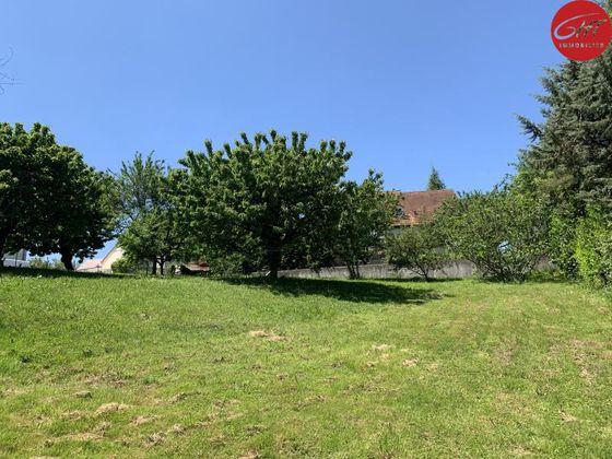 Vente terrain 1025 m2