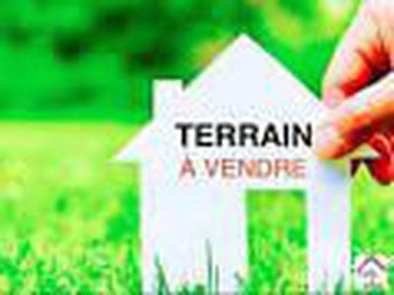Vente terrain 813 m2