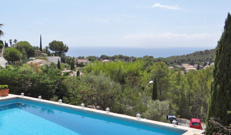 Villa avec piscine et terrasse Bandol