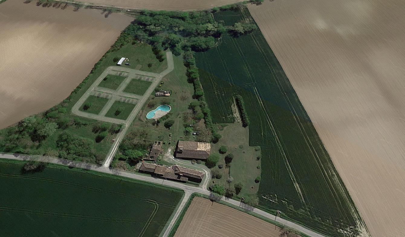 Maison avec piscine et jardin Lalandusse
