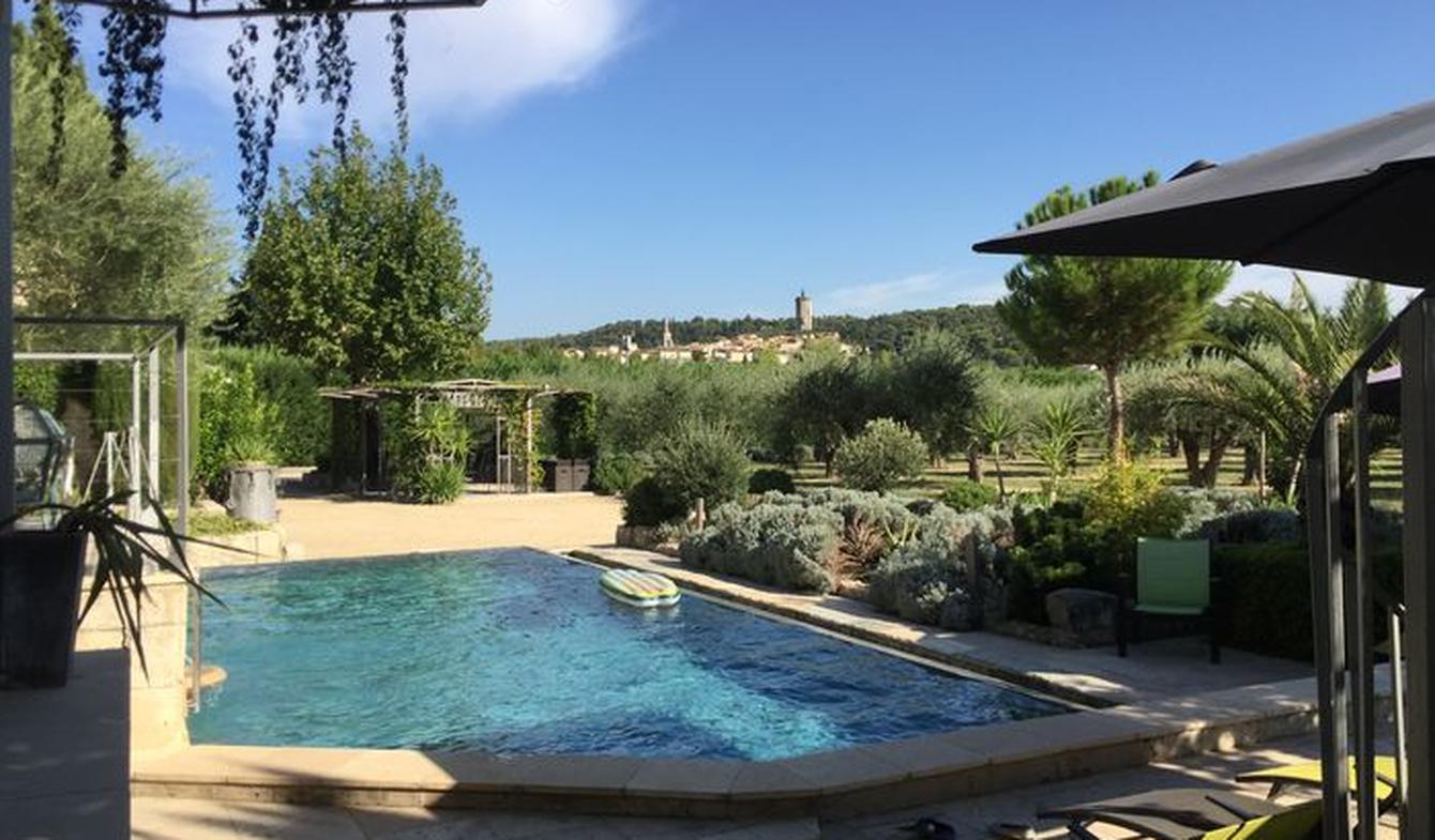 Villa avec piscine et jardin Barbentane