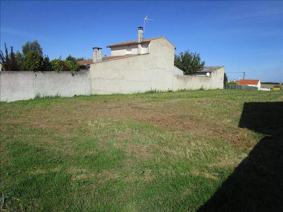 Vente terrain 878 m2