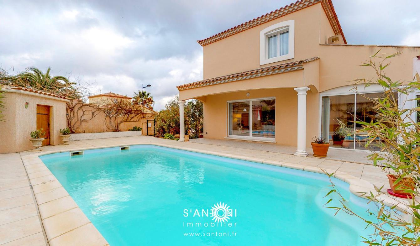 Maison avec piscine et terrasse Serignan
