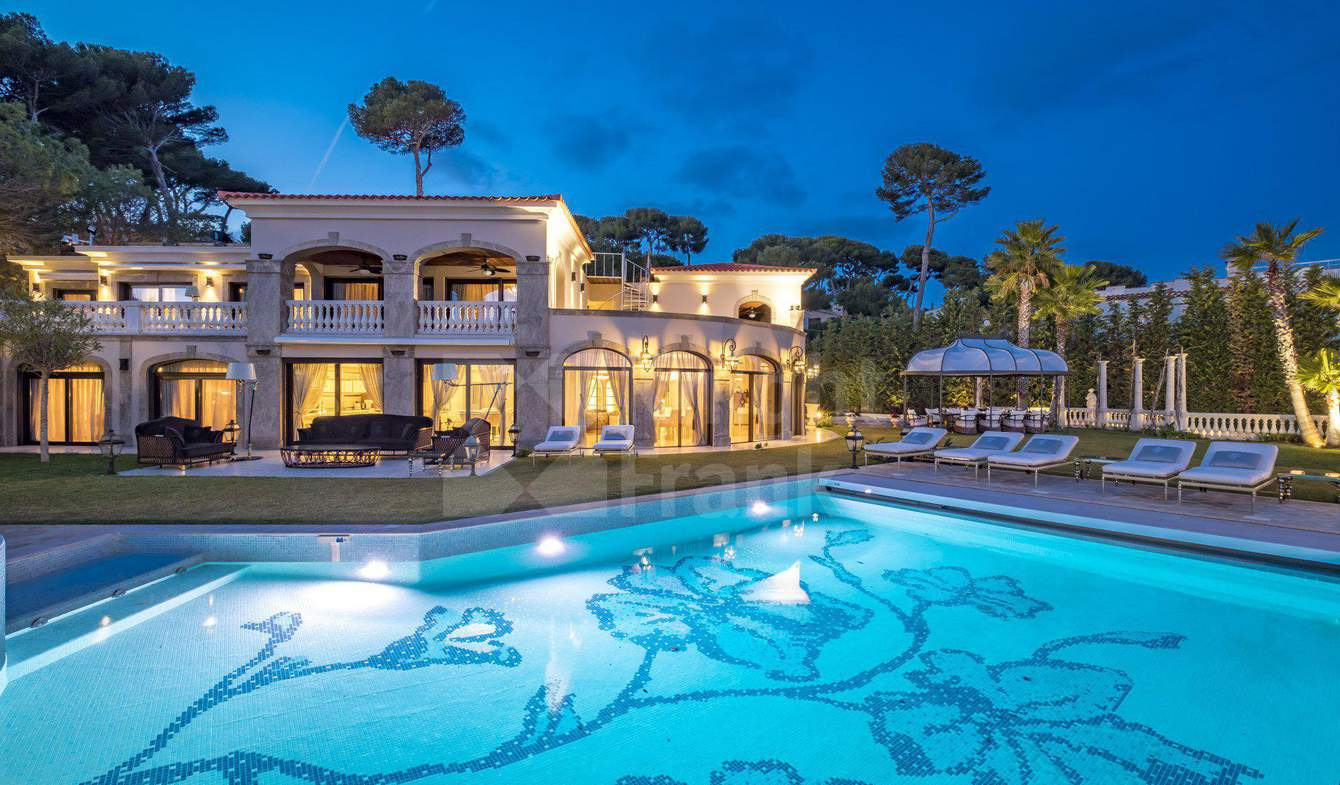 Villa avec piscine Cap d'Antibes