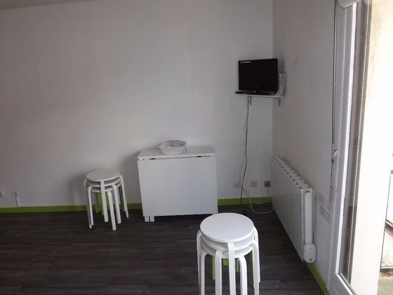 Location studio meublé 23,51 m2