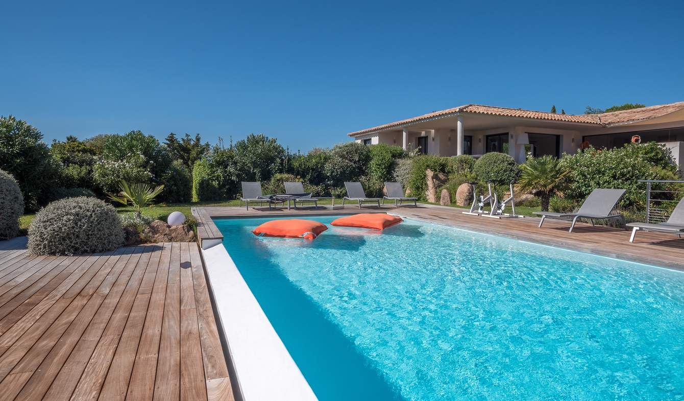 Seaside villa with pool Porto-Vecchio
