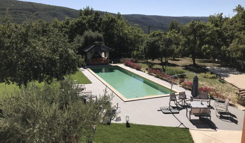Maison avec piscine Lacoste