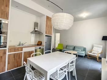 Appartement meublé 2 pièces 45,77 m2