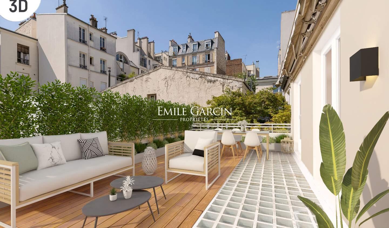 Maison avec terrasse Paris 17ème