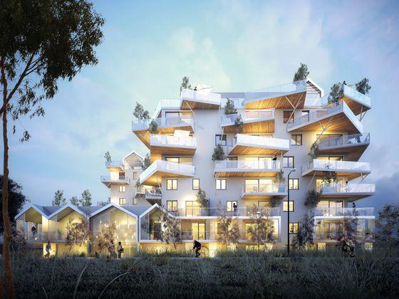 Vente appartement 4 pièces 108,96 m2