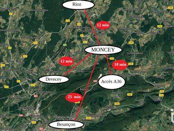 terrain à Moncey (25)