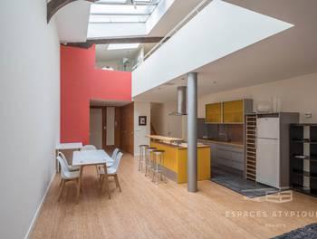 Loft 2 pièces 134 m2
