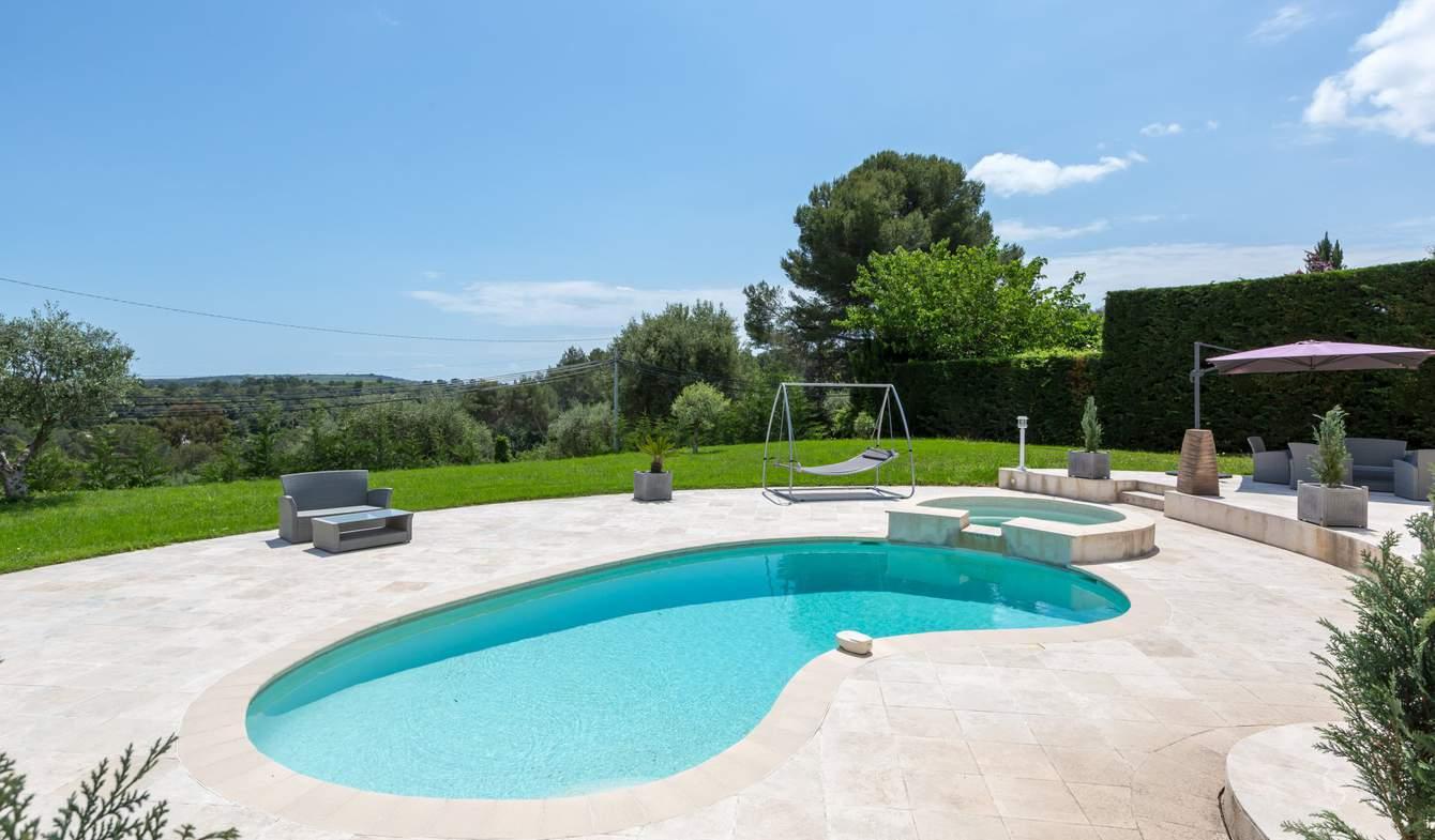 Propriété avec piscine Roquefort-les-Pins
