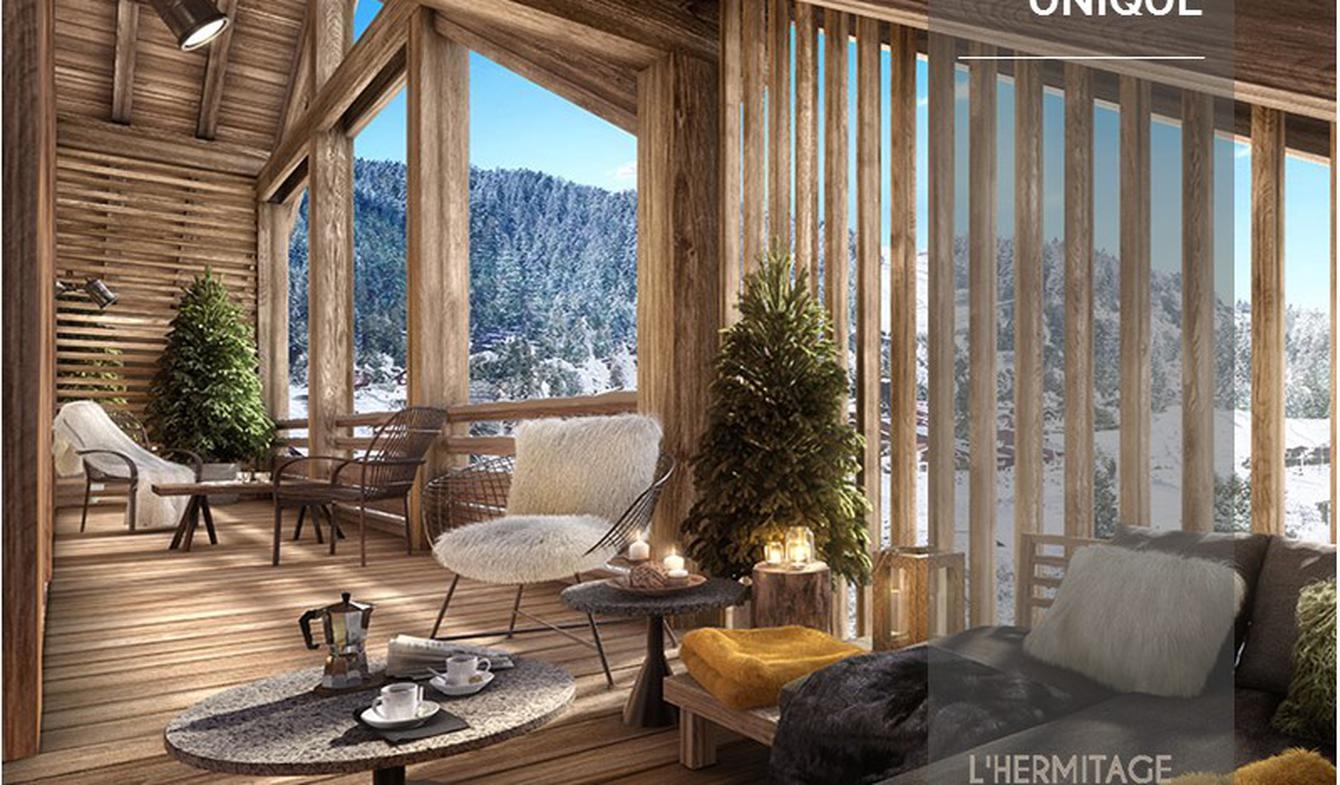 Appartement avec terrasse Les carroz d'araches