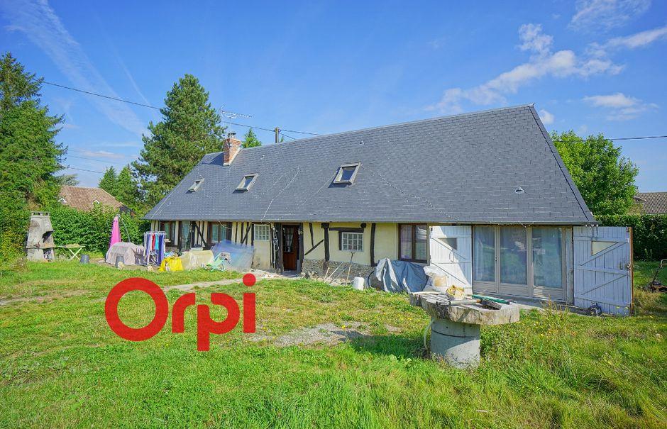 Vente maison 4 pièces 88 m² à Bernay (27300), 129 000 €
