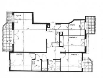 Appartement 4 pièces 92,76 m2