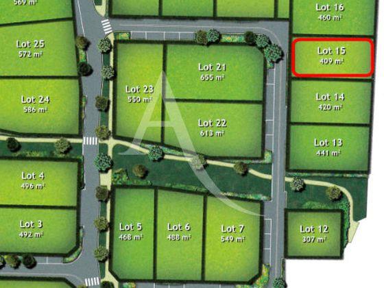 Vente terrain 409 m2